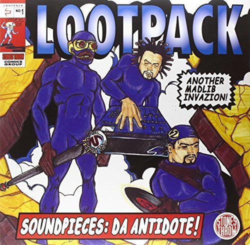 Lootpack Soundpieces Da Antidote 3 Lp Set