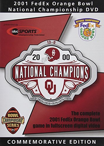 2001 Orange Bowl Oklahoma Vs F 2001 Orange Bowl Oklahoma Vs F Nr