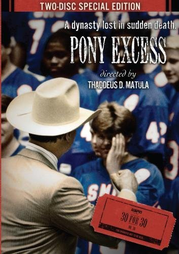 Espn 30 For 30 Pony Excess DVD Nr