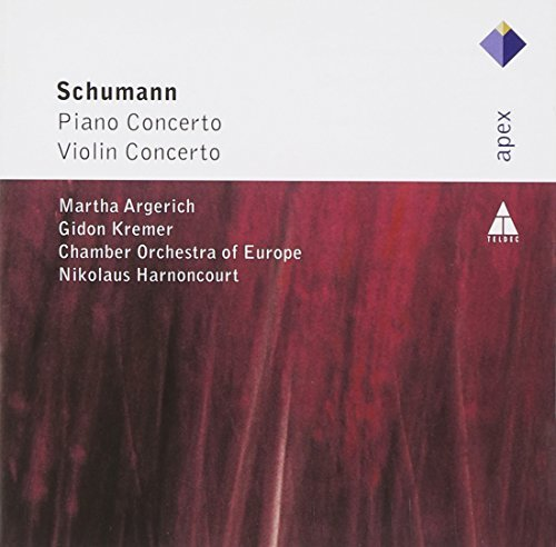 Robert Schumann Piano Concerto Op. 54 Violin C Argerich Kremer Harnoncourt Chamber Orchestra
