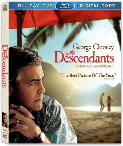 Descendants Clooney Greet Bridges Blu Ray Ws R Incl. DVD Dc