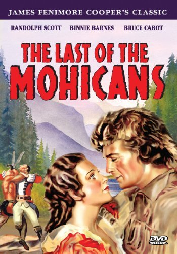 Last Of The Mohicans (1936) Scott Barnes Cabot Bw Nr