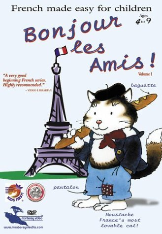 Vol. 1 Bonjour Les Amis French Made Easy For Children Nr