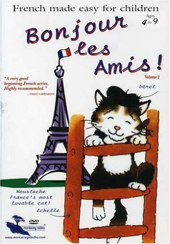 Vol. 2 Bonjour Les Amis French Made Easy For Children Nr