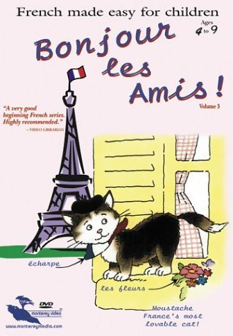 French Made Easy For Children Vol. 3 Bonjour Les Amis Nr