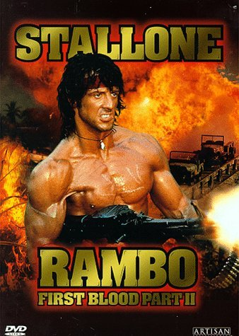 Rambo First Blood 2 Stallone Crenna Clr Cc Dss Ws Keeper R