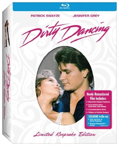 Dirty Dancing Swayze Grey Blu Ray Ws Lmtd Keepsake Ed. Pg13
