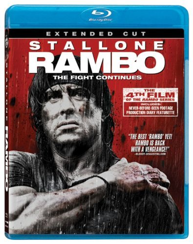 Rambo Stallone Crenna Blu Ray Ws Extended Cut R
