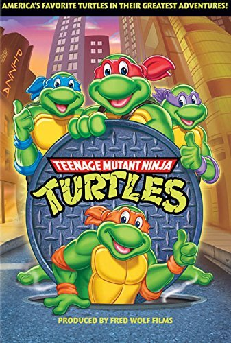 Teenage Mutant Ninja Turtles Volume 1 DVD Nr