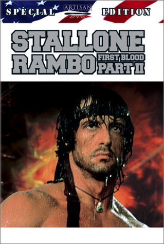 Rambo First Blood 2 (1985) Stallone Crenna Napier Berkoff Clr Ws 5.1 R Spec. Ed.