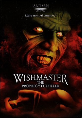 Wishmaster 4 Prophecy Fulfille Novak Trucco Thompson Webster Clr Cc R