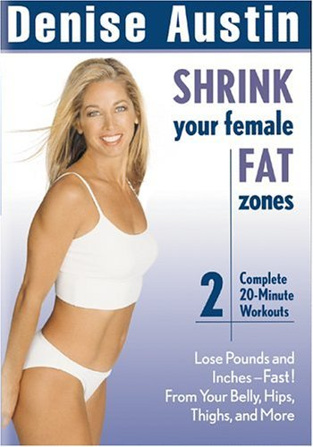 Denise Austin Shrink Your Female Fat Zones Nr