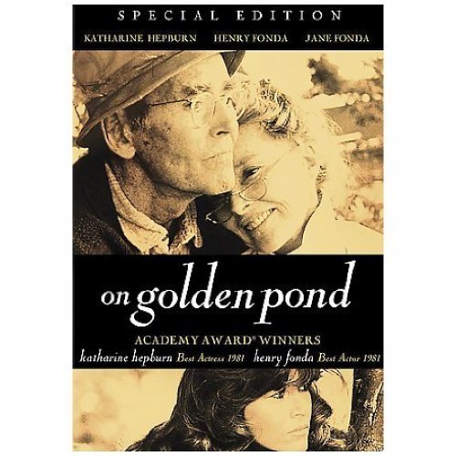 On Golden Pond Hepburn Fonda Fonda DVD Pg Ws