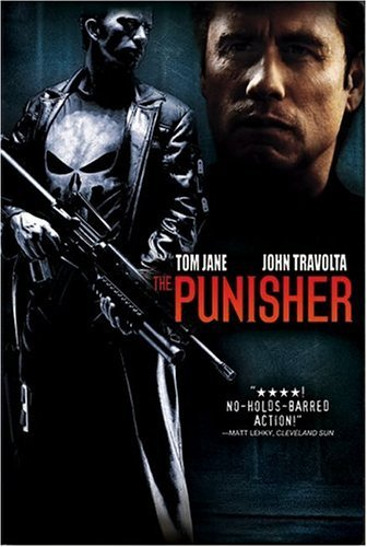Punisher (2004) Jane Travolta DVD R