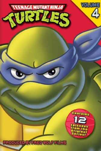 Teenage Mutant Ninja Turtles Volume 4 DVD Nr