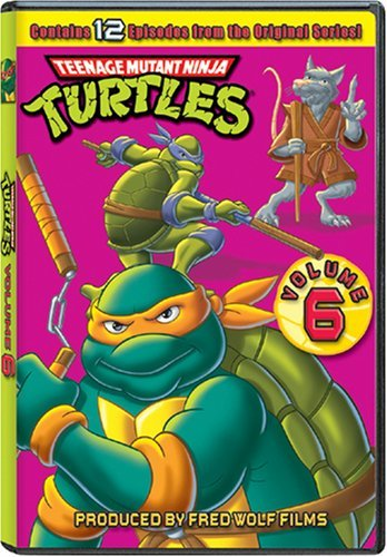 Teenage Mutant Ninja Turtles Volume 6 DVD Nr