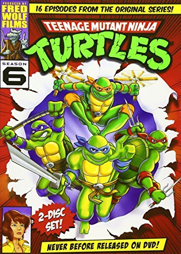 Teenage Mutant Ninja Turtles Season 6 DVD Nr