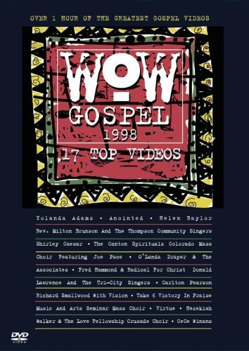 Wow Gospel 1998 Wow Gospel Walker Hammond Pearson Virtue Wow Gospel