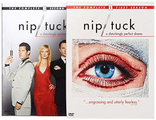 Nip Tuck Nip Tuck Seasons 1&2 Side By Side Nr 9 DVD