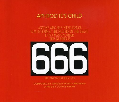 Aphrodite's Child 666 Apocalypse Of St John Import Deu