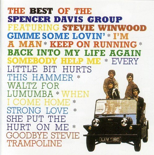 Spencer Group Davis Best Of (ft Steve Winwood) Import Gbr