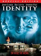 Identity Cusack Peet Liotta Hawkes Special Edition