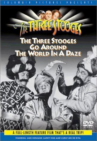Three Stooges Go Around The Wo Three Stooges Clr Nr