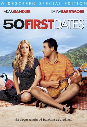 50 First Dates Sandler Barrymore Schneider As Clr Ws Pg13 Special Ed