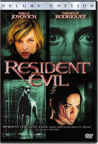 Resident Evil Jovovich Rodriguez Mccluskey DVD R Ws