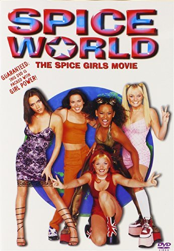 Spice World Spice Girls DVD Pg