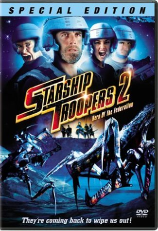 Starship Troopers 2 Hero Of Th Burgi Carlson Lauter Holt Clr Ws R Special Ed.