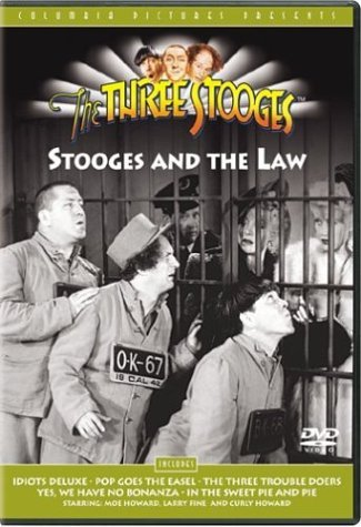 Stooges & The Law Three Stooges Nr