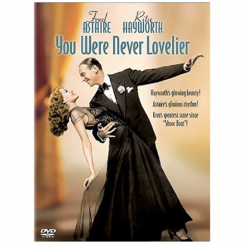 You Were Never Lovelier Hayworth Astaire Nr