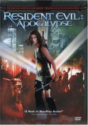 Resident Evil Apocalypse Jovovich Guilory Mabius Fehr DVD R Ws