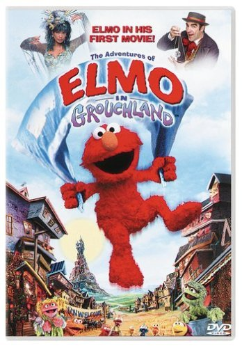 Adventures Of Elmo In Grouchla Patinkin Williams DVD G