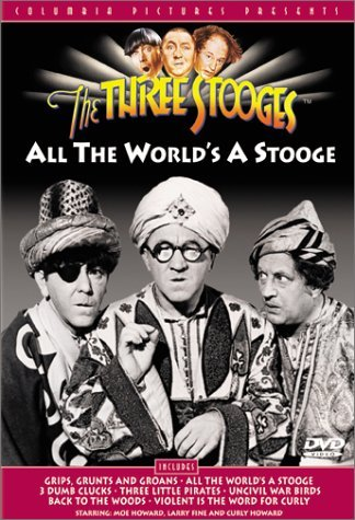 All The World's A Stooge Three Stooges Bw Cc Mult Sub Nr