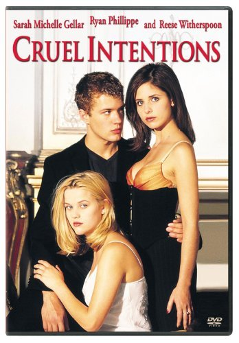 Cruel Intentions Gellar Phillippe Witherspoon Clr Cc 5.1 Ws R
