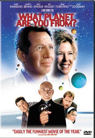 What Planet Are You From Shandling Bening DVD R