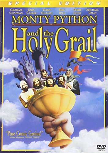 Monty Python & The Holy Grail Chapman Cleese Idle Gilliam DVD Pg Ws