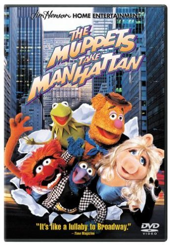 Muppets Take Manhattan Donald Price Zorich DVD G Ws