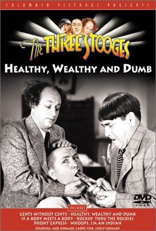 Three Stooges Healthy Wealthy & Dumb Bw Cc Spa Dub Mult Sub Nr