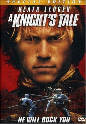 Knight's Tale Ledger Addy Sewell Sossamon Be Clr Cc 5.1 Ws Fra Dub Sub Pg13 Spec. Ed.