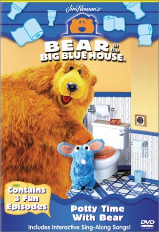 Bear In The Big Blue House Potty Time With Bear Clr Cc St Spa Sub Chnr