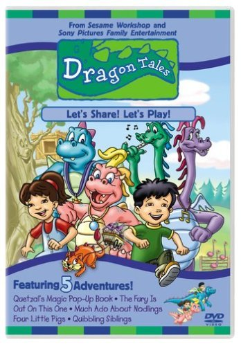Let's Share Let's Play Dragon Tales Clr Cc St Spa Sub Chnr