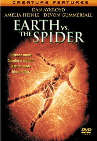 Earth Vs. The Spider Aykroyd Gummersall Heinle Russ Clr Cc 5.1 Ws Mult Sub R