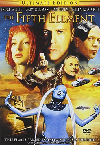 Fifth Element Willis Oldman Jovovich Holm DVD Pg13 Ws