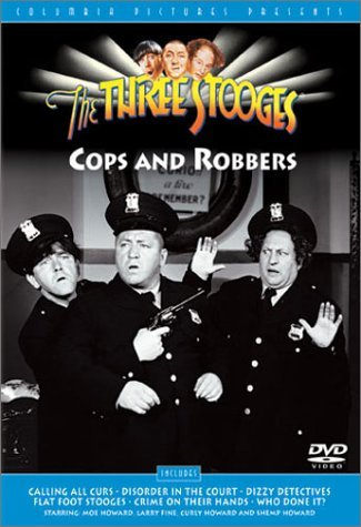 Three Stooges Cops & Robbers Bw Cc Nr