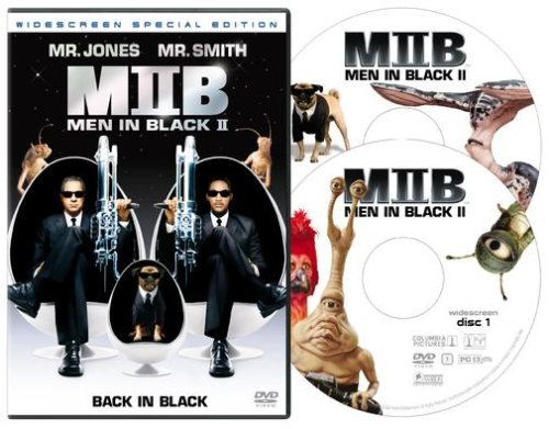 Men In Black 2 Jones Smith Clr Cc 5.1 Ws Fra Dub Sub Pg13 2 DVD Spec.