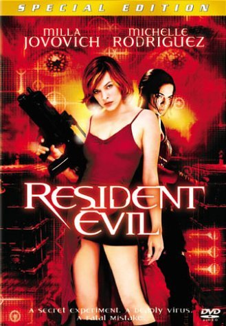 Resident Evil Jovovich Rodriguez Mabius Pure DVD R