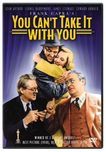 You Can't Take It With You Arthur Barrymore Stewart Arnol Clr Nr